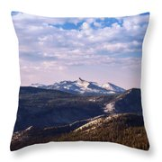 View From May Lake Throw Pillow