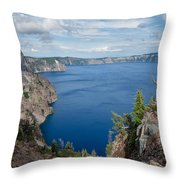 View From Merriam Point Throw Pillow
