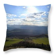 View From Nebias Throw Pillow