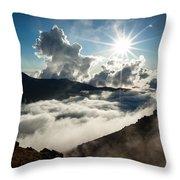 View From Ptarmigan Peak Throw Pillow