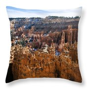 View From Rim Trail Throw Pillow