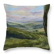 View From Sienna Throw Pillow