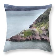 View From Signal Hill Throw Pillow