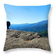 View From The Chimney Throw Pillow