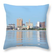 View From The East Throw Pillow