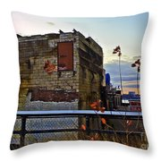 View From The High Line Throw Pillow