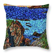 View From The Pacific Coast Highway Throw Pillow