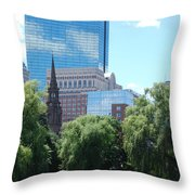 View From The Park Throw Pillow