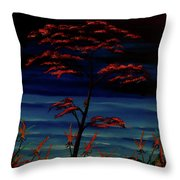 View From The Pirate's Isle Throw Pillow