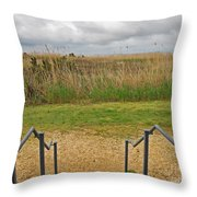 View From The Porch Throw Pillow