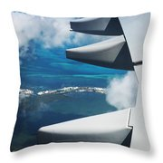 View From The Sky Throw Pillow