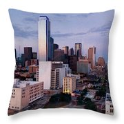 View From The Top Throw Pillow