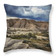 View From The Top - Toadstool  Throw Pillow