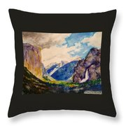 View From The Tunnel Throw Pillow