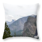 View From The Valley Throw Pillow