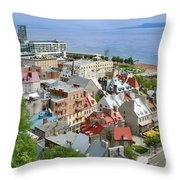 View From The Wall Throw Pillow