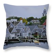 View From The Water Throw Pillow
