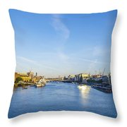 View From Tower Bridge Throw Pillow