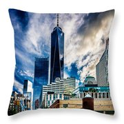 View From Tribeca Throw Pillow