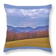 View From Von Trapps Lodge 2 Throw Pillow