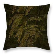 View In A Forest  Outer Right Wing Of A Triptych  Gerard David  C  1505   C  1515 Throw Pillow