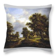 View In Sussex Throw Pillow