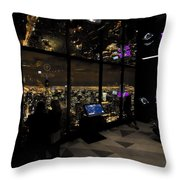 View Of A View - 360 Chicago Hancock Ctr Throw Pillow