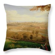 View Of Bradford Throw Pillow