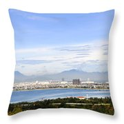 View Of Da Nang 2 Throw Pillow