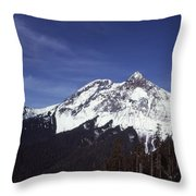 View Of Garibaldi Mountain Throw Pillow
