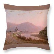 View Of Mtskheta Throw Pillow