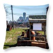 view of Oz Throw Pillow