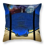 View Of Space From The Observatory Throw Pillow