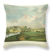View Of The Battle Ground At Concord Mass Throw Pillow