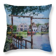 View On Hillegersberg Throw Pillow
