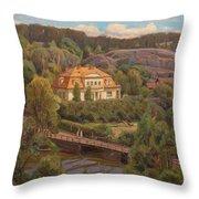 View Over Billnas Throw Pillow