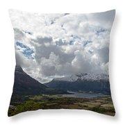 View Over Gullstein Throw Pillow