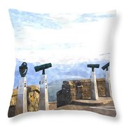 View The Columbia At The Vista House Throw Pillow