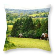 View To Kill For Throw Pillow