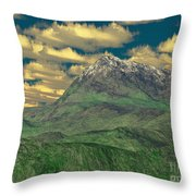 View To The Mountain Throw Pillow
