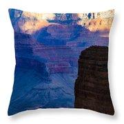 View Toward Vishnu Throw Pillow