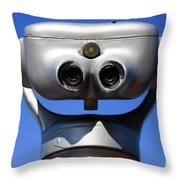 Viewing Telescope Throw Pillow