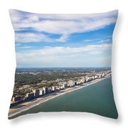 Views From Above Throw Pillow