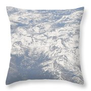 Views From The Sky Throw Pillow