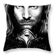 Viggo Mortensen Throw Pillow