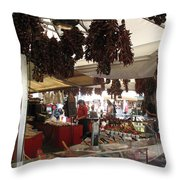 Viktualienmarkt - Munich Throw Pillow