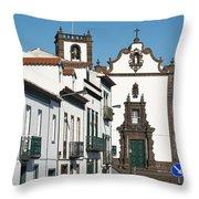 Vila Franca Do Campo, Azores Throw Pillow