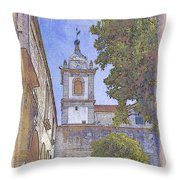 Vila Pouca Da Beira Throw Pillow