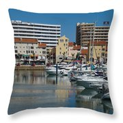 Vilamoura Marina 2 Throw Pillow