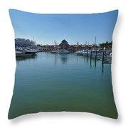 Vilamoura Marina 3 Throw Pillow